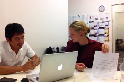 Using speech pathology skills to improve English pronunciation