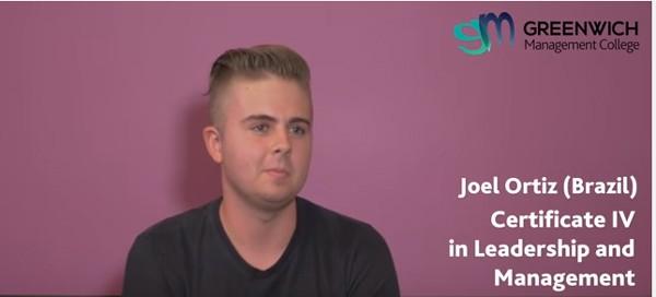 Meet GMC Student: Joel Ortiz