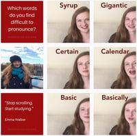 instagram pronunciationwithemma