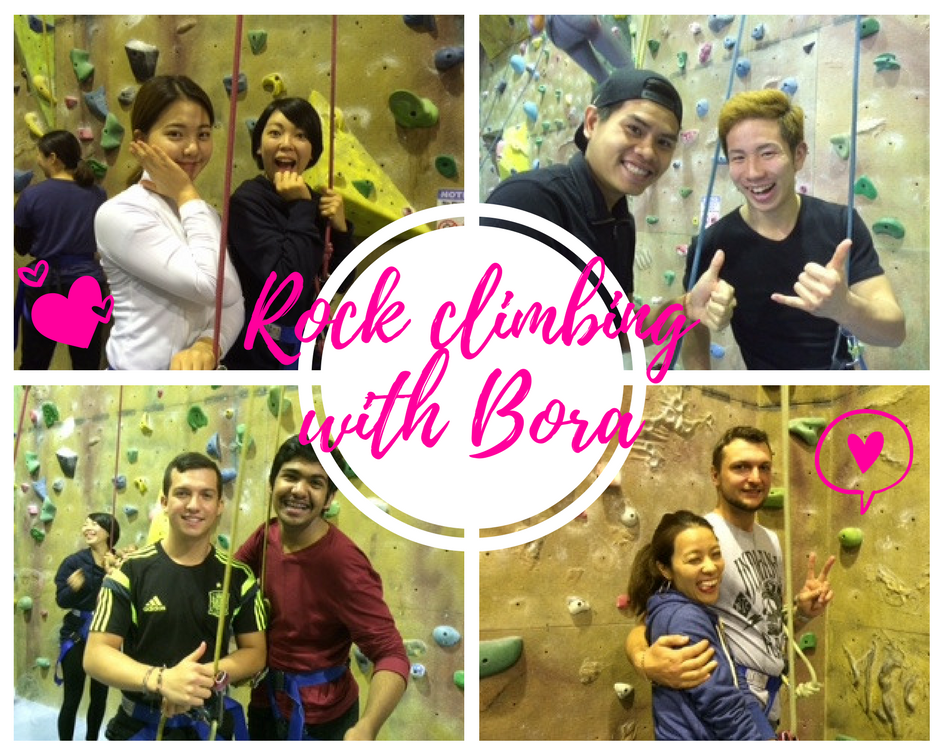 Sydney Student Excursion - Indoor Rock Climbing