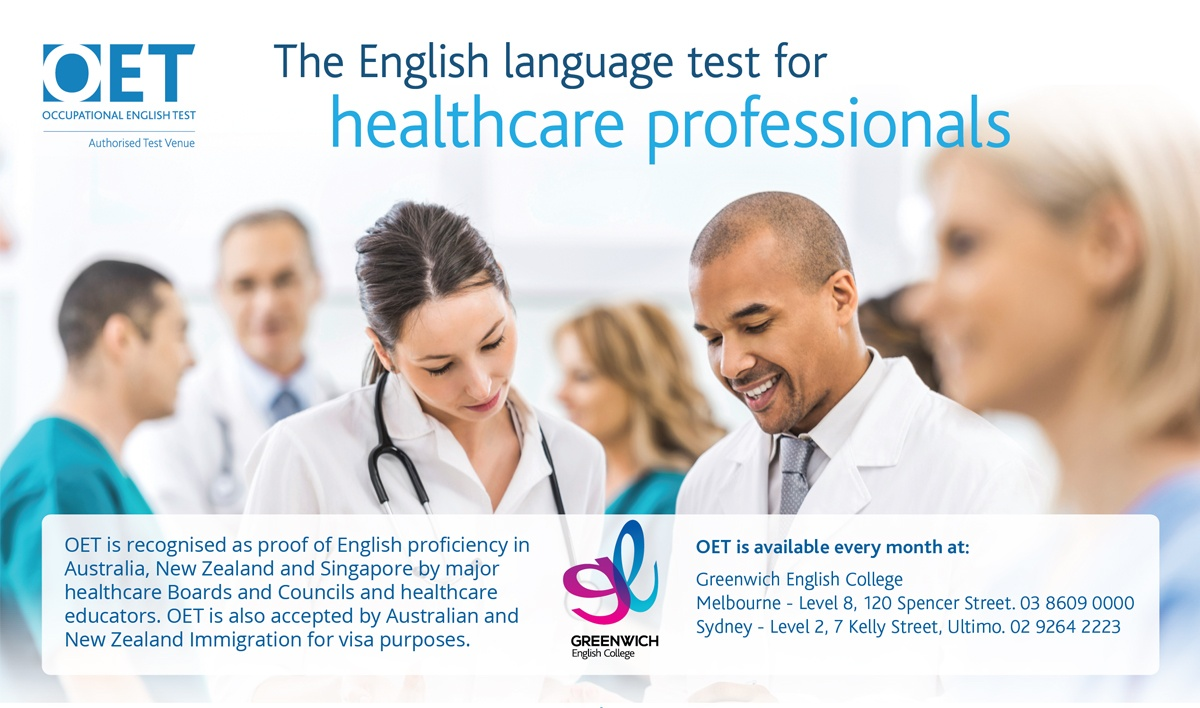 Greenwich English College Melbourne Campus Joins OET's Global Network of Test Venues